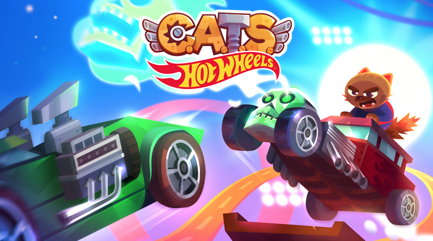 C A T S : Crash Arena Turbo Stars - a mobile game by